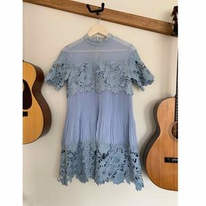 [Free People] blue party dress size small
